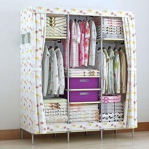 generic new portable double closet storage