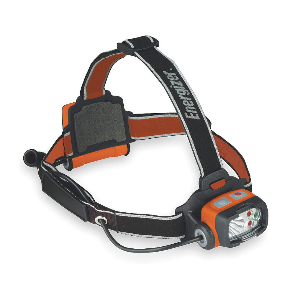 Headlight, 3 AA, Safety Orange and Black