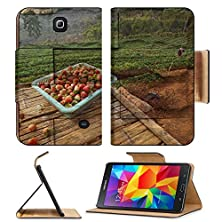 buy Samsung Galaxy Tab 4 7.0 Inch Flip Pu Leather Wallet Case Strawberry Field In Chiang Mai Thailand Mural The Stone Painting Concept Image 35263772 By Msd Customized Premium