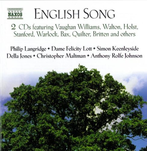 English Song by Charles Villiers Stanford,&#32;Liza Lehmann,&#32;Arthur Somervell,&#32;Ralph Vaughan Williams and Gustav Holst