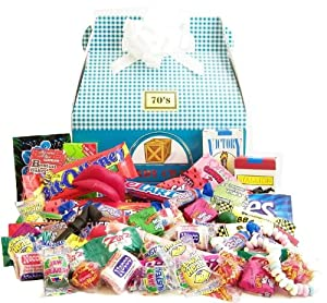 1970's Easter Retro Candy Gift Box