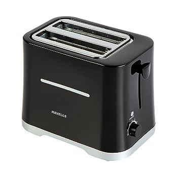 Havells Crisp 700-Watt Pop-up Toaster (Black)