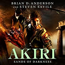 Sands of Darkness Audiobook by Brian D. Anderson, Steven Savile Narrated by Jonathan Davis
