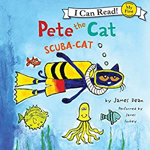 Pete the Cat - Scuba-Cat Audiobook