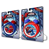SPIDERMAN - Reloj despertador de campanas de spiderman