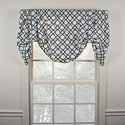 Ellis Curtain Kent Crossing 100-by-30 Inch Lined 2-Piece Duchess Valance