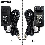 Pukido Switching Power Adapter for Audio Mixer, 4-Hole to 4-Pin Plug for US 100-120V / EU 220~240V, Output 15~48VDC for Sound System - (Brand: New, Plug Type: US-Plug(100-120V)) (Color: China / US-Plug(100-120V), Tamaño: China / US-Plug(100-120V))