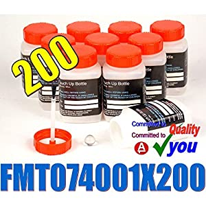 200 Plastic Paint Touch Up Pots Bottles Empty (Brush In Lid) FMT074001 Lacquer Thinners from DYNATEC