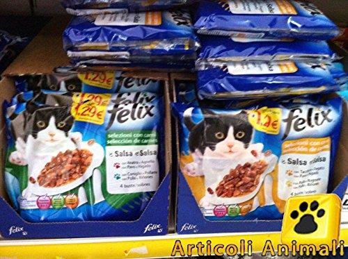 20 bustine felix multipack mangime x gatti 100 grammi