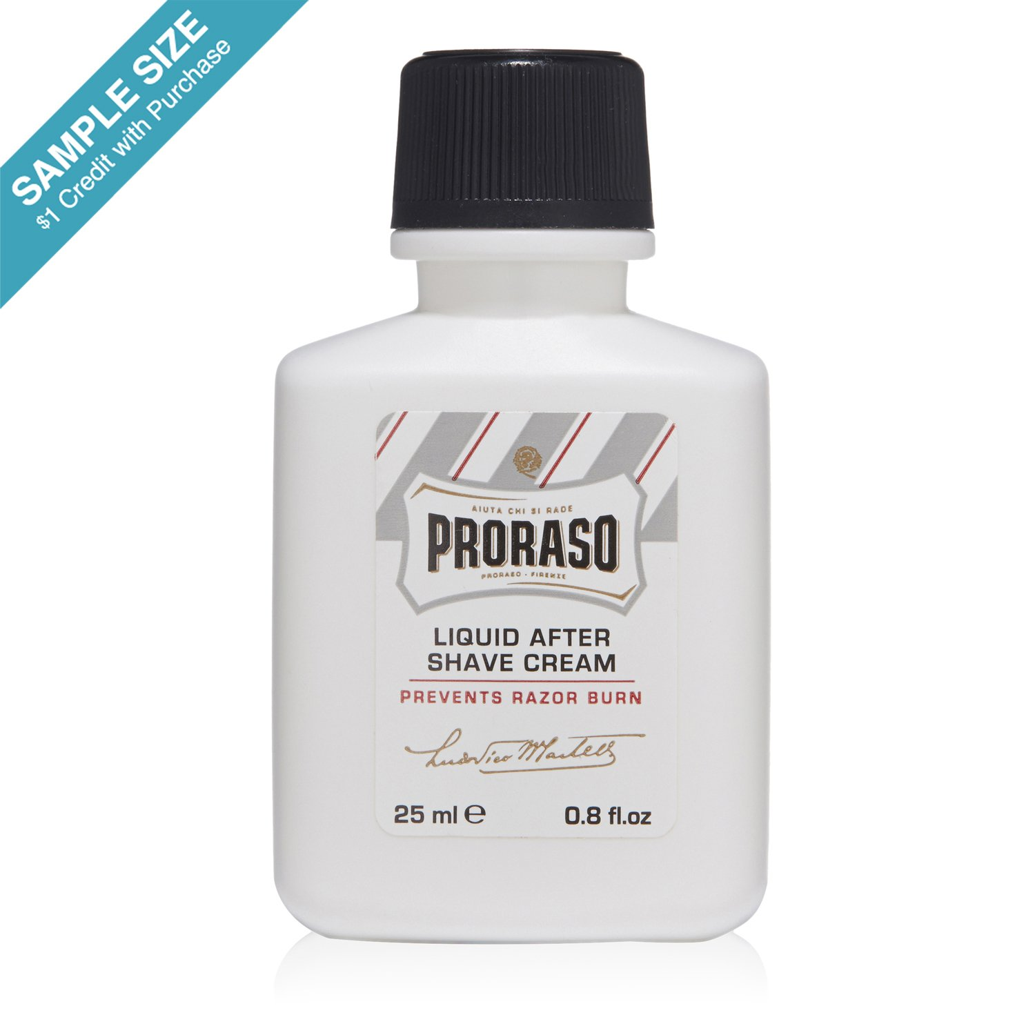 SAMPLE Proraso After Shave Balm Sensitive 0.8 fl oz ($1 Credit with Purchase)