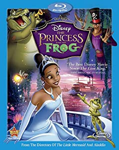 The Princess and the Frog (Single Disc Blu-ray)