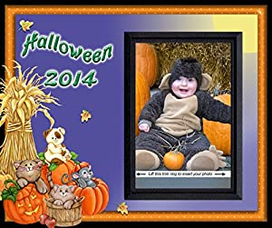 Halloween 2014 - Picture Frame Gift by Expressly Yours!