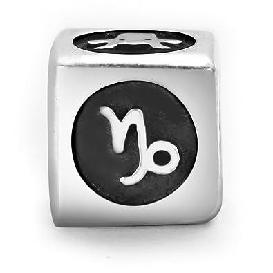 Pandora compatible, abalorio talismán Capricornio