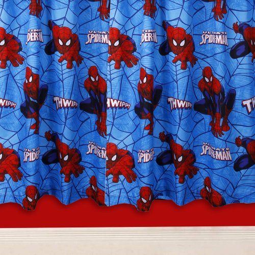 Character World 54-inch Ultimate Spider-Man City Curtains
