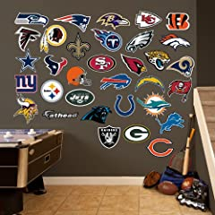 Buy NFL Teams Logo Collection Wall Graphics by Fathead