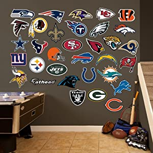NFL Teams Logo Collection Wall Graphics by Fathead