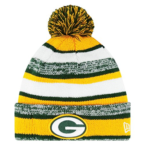 Green Bay Packers On Field Sport Knit Beanie - Team Color
