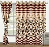 Zyne Polyester Ready Curtain Panel - Multicolor