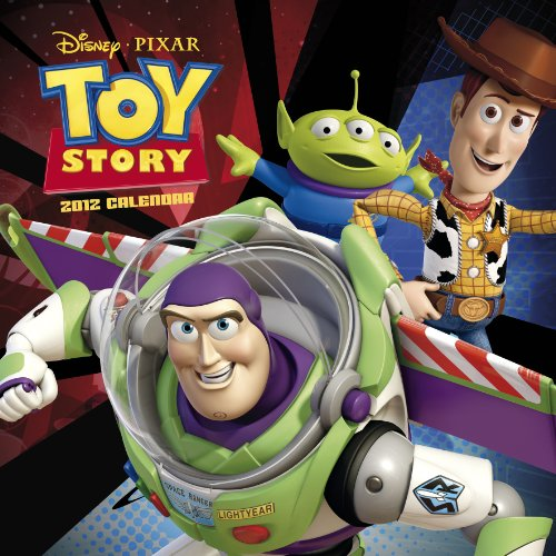 Official Toy Story 3 Calendar 2012