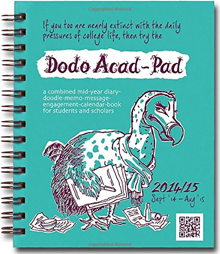 Dodo Mini Acad-Pad Pocket Diary 2014 - 2015 Week to View Academic Mid Year Diary: A Combined Mid-Year Diary-Doodle-Memo-Message-Engagement-Calendar-Book for Students and Scholars (Dodo Pad)