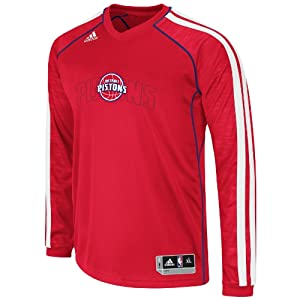 NBA Detroit Pistons On-Court Shooting Jersey by adidas