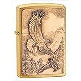 Brushed Brass, Where Eagles Dare Emblem
