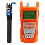 Flameer 1mW/5km Red Light Visual Fault Locator Test +Optical Fiber Power Meter Tool