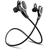 Apekx B3 Wireless Bluetooth Headphones with Mic (Black)