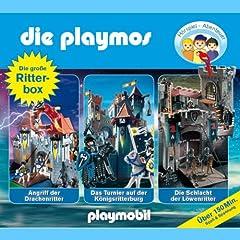 Die Playmos - Die gro�e Ritterbox mit 3 spannenden H�rspielfolgen