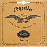 Wound Aquila Aquila 21U Ukulele Baritone 4-string set 21U, New nylgut, DGBE deep D tuning, D and G strings, string length 85 cm