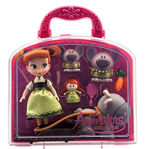 Disney-Animators-Collection-Anna-Mini-Doll-Play-Set-5-New-by-Frozen
