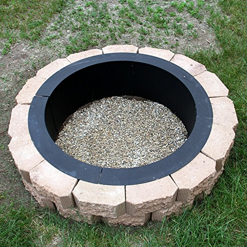 Sunnydaze Fire Pit Rim Make Your Own In Ground Fire Pit 27