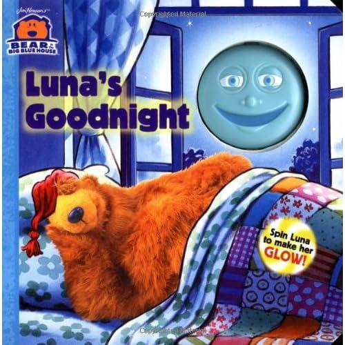 Luna's Goodnight (Bear in the Big Blue House (Board Books Simon