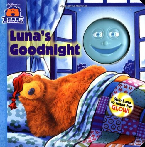 Luna'S Goodnight (Bear In The Big Blue House (Board Books Simon & Shuster)) front-499410
