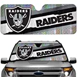NFL Oakland Raiders Auto Sun Shade