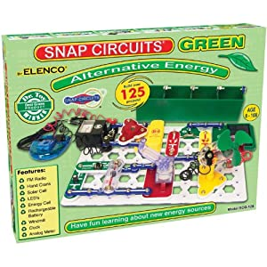 Snap Circuits Alternative Energy Kit, Green