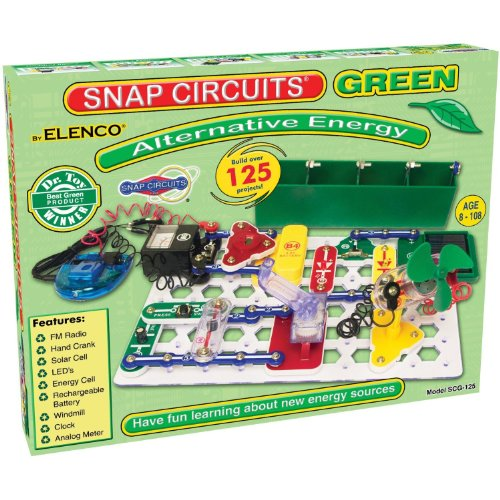 Snap Circuits Alternative Energy Green JungleDealsBlog.com