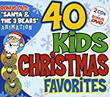 Cover art for  40 Kids Christmas Favorites