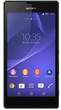 "Sony T3 - Smartphone libre Android (pantalla 5.3"", camara 8 Mp, 8 GB, Quad-Core 1.4 GHz, 1 GB RAM), negro (importado)"