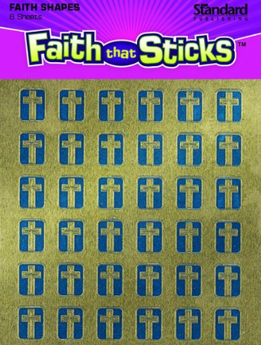 Foil Cross Miniatures Faith that Sticks