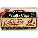 Bigelow Tea Black Tea Vanilla Chai -- 20 Tea Bags