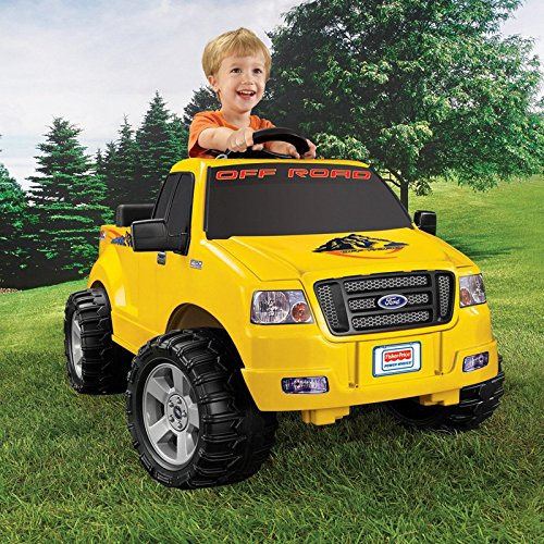 Fisher-Price Power Wheels Lil F150 Truck Battery Powered Riding Toy (Powerwheels Trucks compare prices)