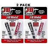 J-B Weld 8265S Original Steel Reinforced Epoxy Twin Pack - 2 oz (Pack of 2)