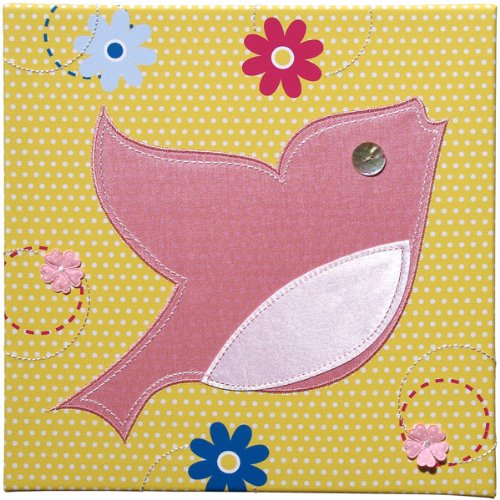 Pink Bird Wall Art - Under the Tree Collection