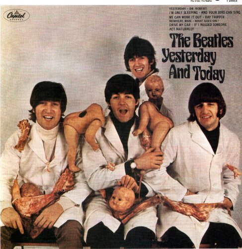 Original album cover of Yesterday & Today [Vinyl] by Beatles