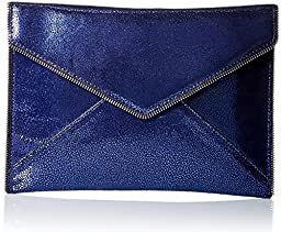 Rebecca Minkoff Leo Envelope Clutch, Blue, One Size