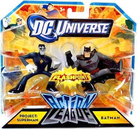 DC Universe Action League FLASHPOINT Mini Figure 2Pack Project Superman Batman - 1