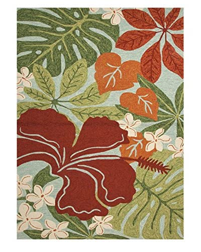 Jaipur Rugs Vibrant Floral Indoor/Outdoor Rug
