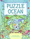 img - for Puzzle Ocean (Usborne Young Puzzle Books) book / textbook / text book