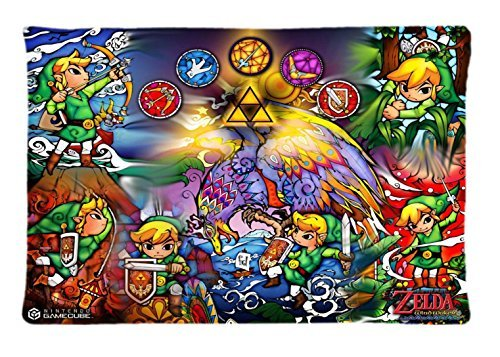 The Legend of Zelda Cool Custom Pillowcase Rectangle Pillow Cases 20x30 Inches (one side) (Cool Customs compare prices)